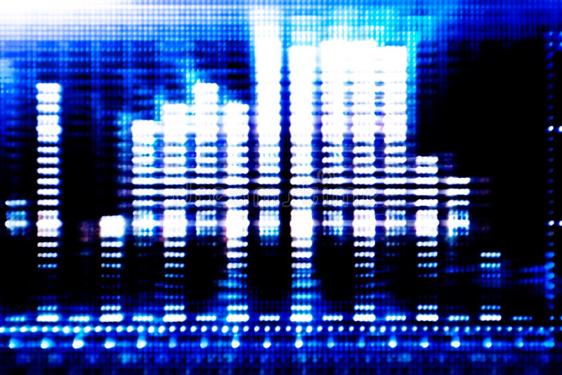 Fundo azul abstrato da tecnologia fotos de stock royalty free