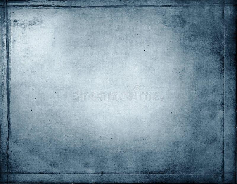 Fundo azul abstrato do grunge ilustração royalty free