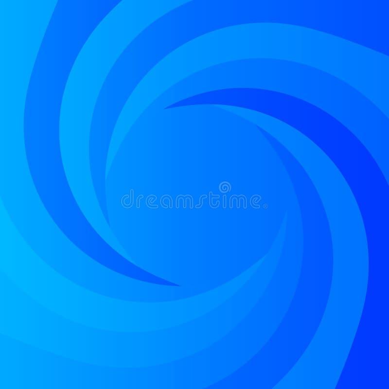 Fundo azul abstrato do poder ilustração royalty free