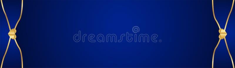 Fundo azul abstrato no estilo indiano superior Projeto do molde para a tampa, apresenta??o do neg?cio, bandeira da Web, convite d ilustração royalty free