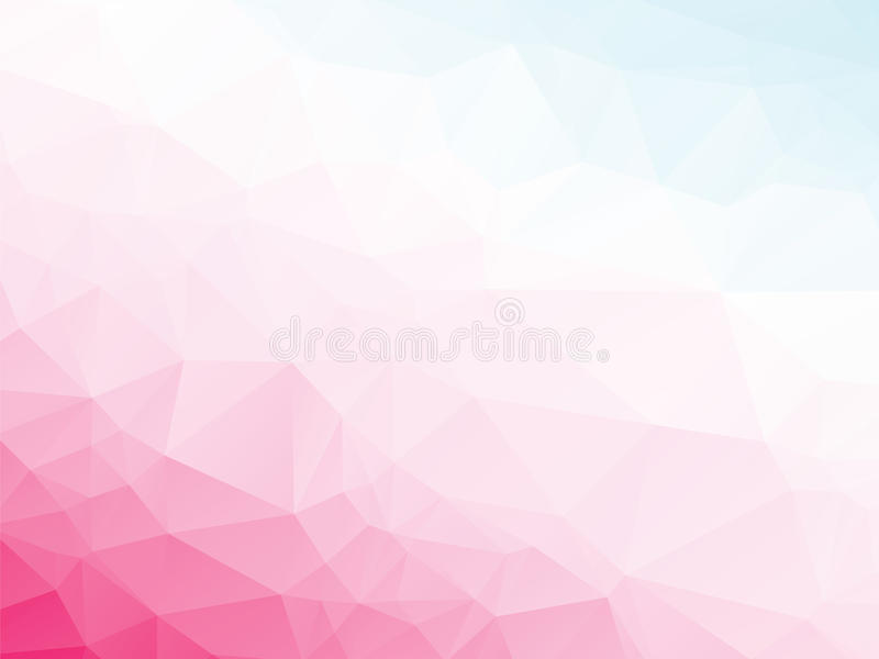 Fundo azul branco violeta cor-de-rosa ilustração royalty free