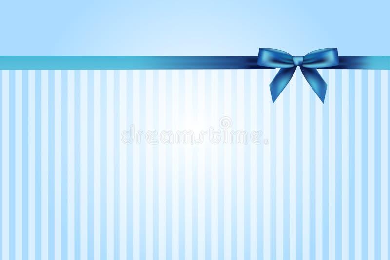 Fundo azul com curva ilustração do vetor