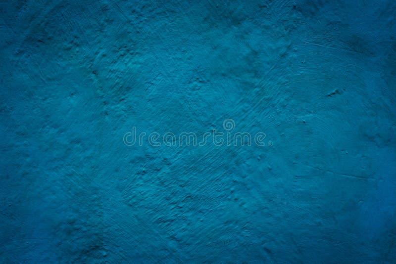 Fundo azul concreto do grunge da textura da parede ilustração stock