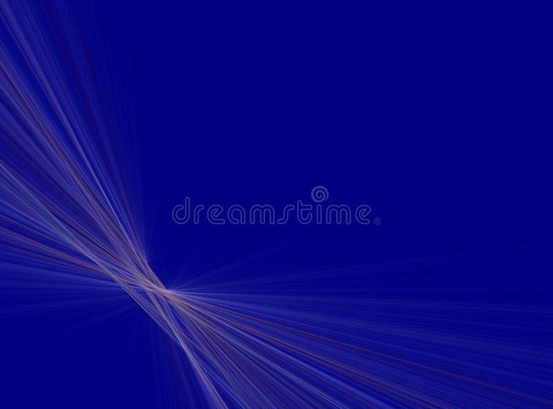 Fundo azul da perspectiva da raia ilustração royalty free