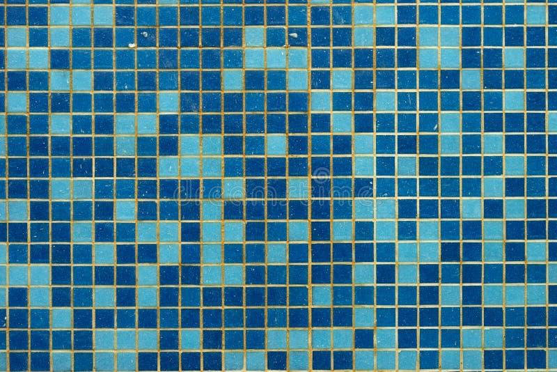 Fundo azul da telha da piscina foto de stock royalty free