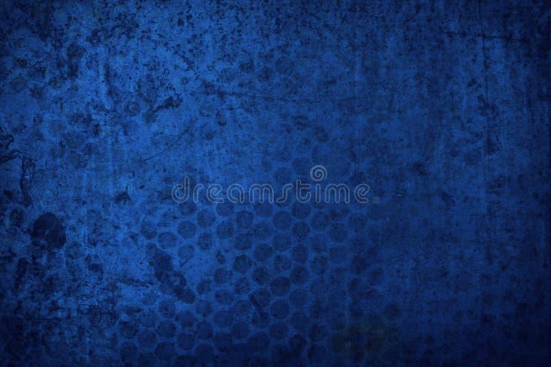Fundo azul da textura de Grunge fotos de stock royalty free