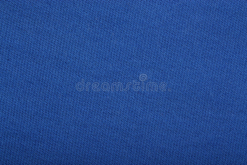 Fundo azul da textura de pano fotos de stock