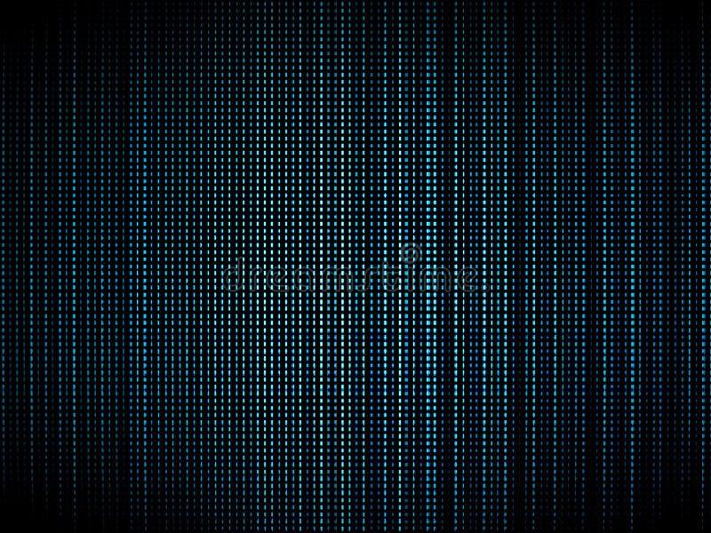 Fundo azul da textura do luminophor da tevê ilustração royalty free