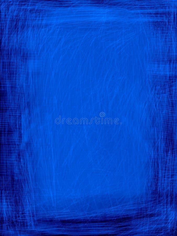 Fundo azul de Grunge ilustração do vetor