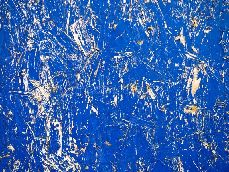 Fundo azul de Grunge do cartão fotografia de stock