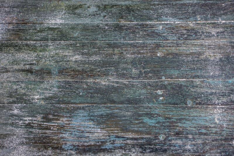 Fundo azul de madeira escuro da textura do estilo do vintage imagens de stock royalty free