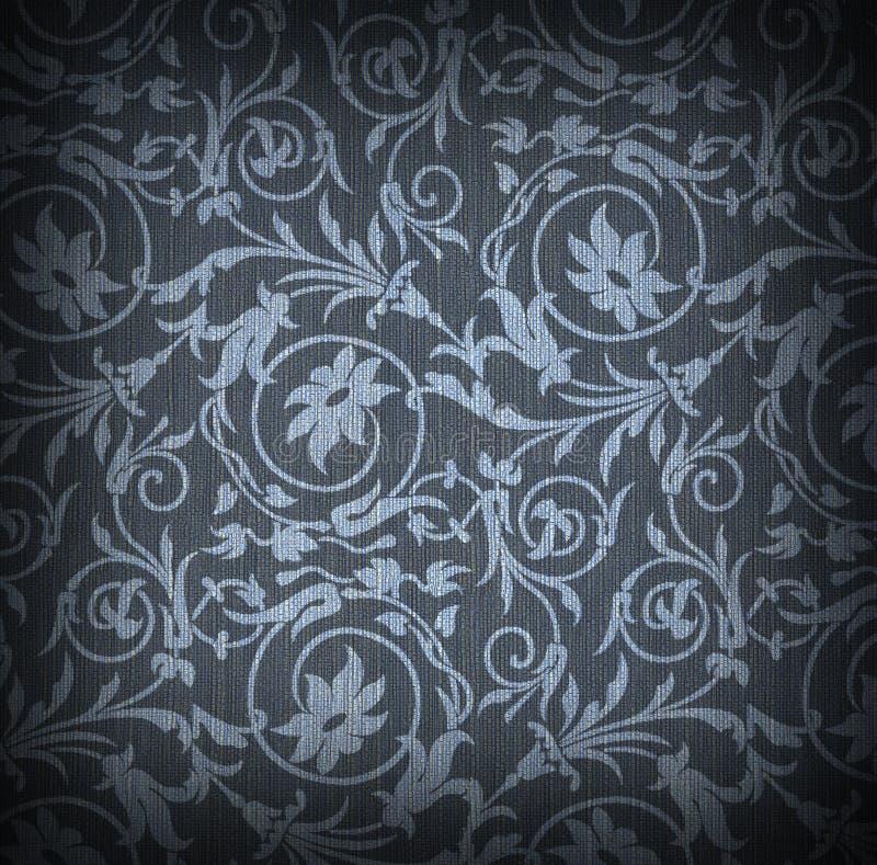 Fundo azul de matéria têxtil ilustração stock