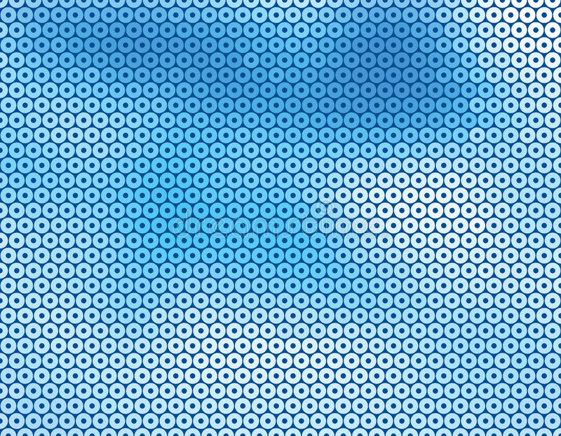 Fundo azul do círculo ilustração do vetor
