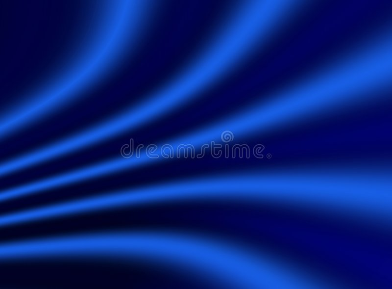 Fundo azul do drapery ilustração royalty free