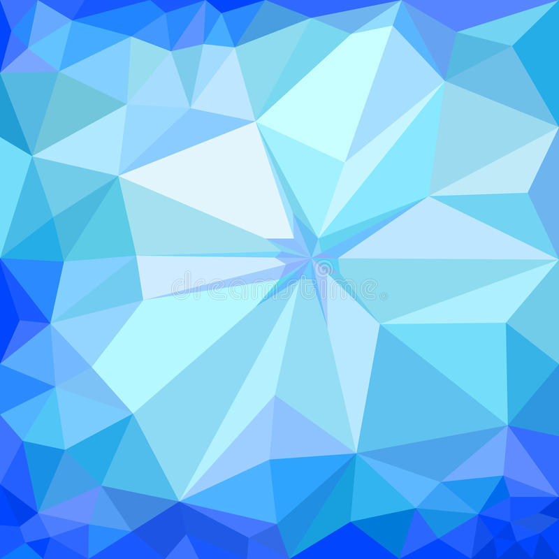 Fundo azul do gelo do inverno ilustração do vetor