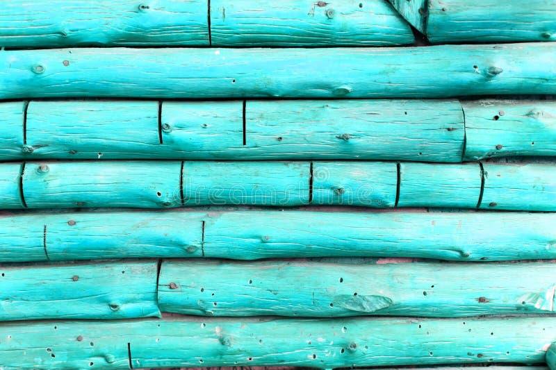Fundo azul do log foto de stock royalty free