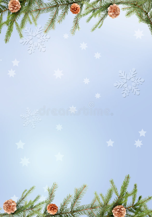 Fundo azul do Natal