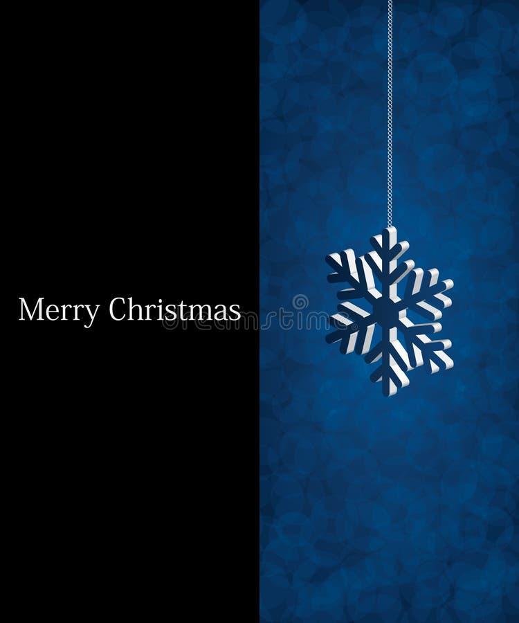 Download Fundo azul do Natal ilustração do vetor. Ilustração de estação - 16870658
