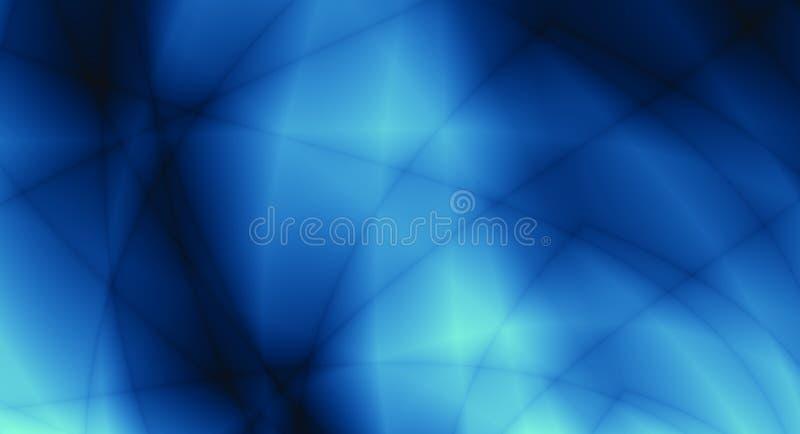 Fundo azul do relâmpago do sumário do teste padrão ilustração stock