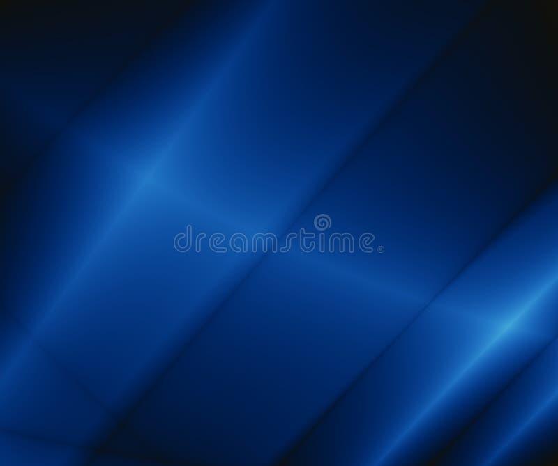 Fundo azul do relâmpago do sumário do teste padrão ilustração do vetor