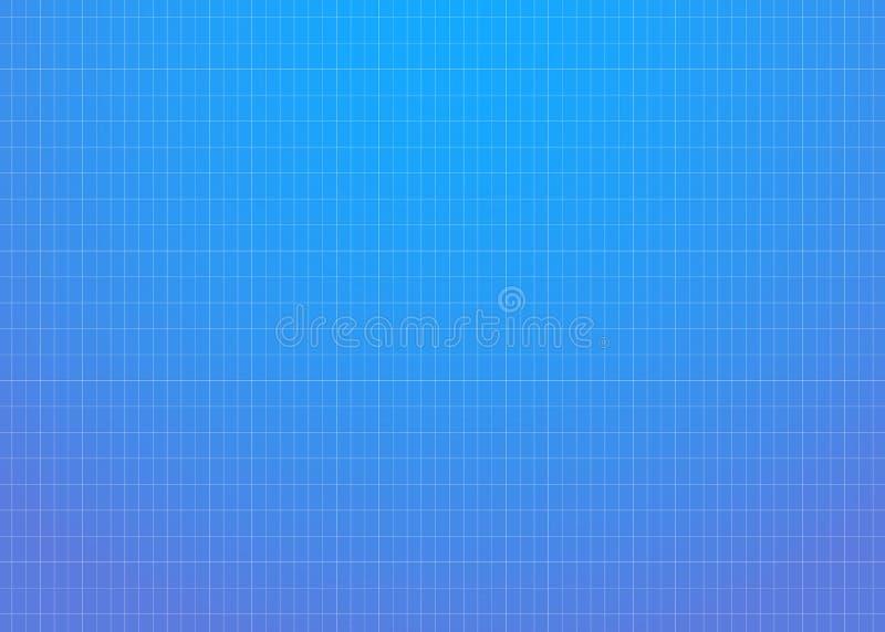 Fundo azul do sumário do inclinação ilustração stock