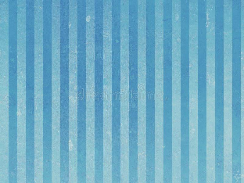 Fundo azul do vintage ilustração do vetor