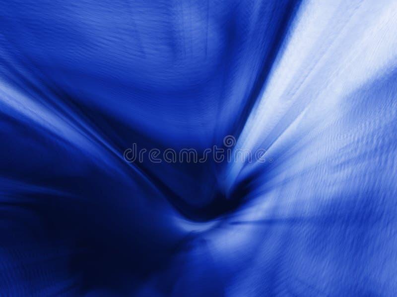 Fundo azul do zoom ilustração stock