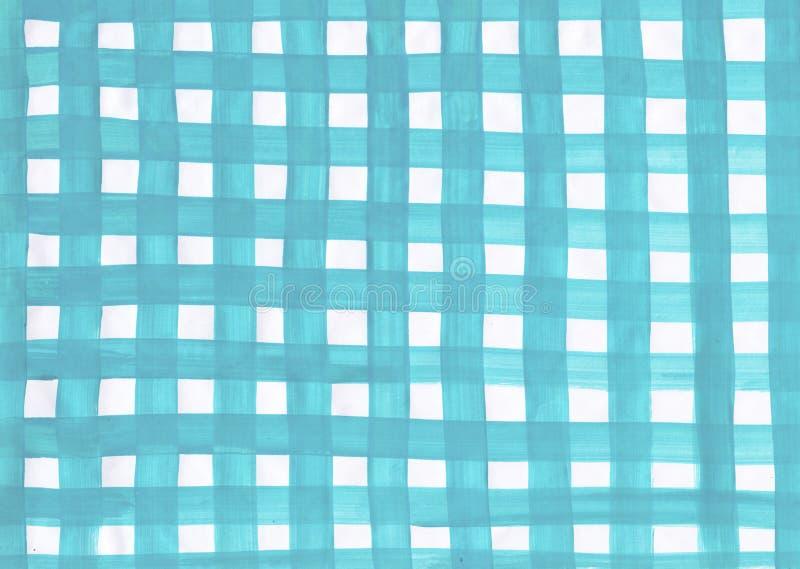 Fundo azul e branco ilustração royalty free