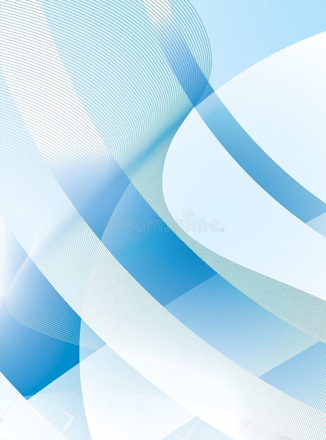 Fundo azul e cinzento fotografia de stock