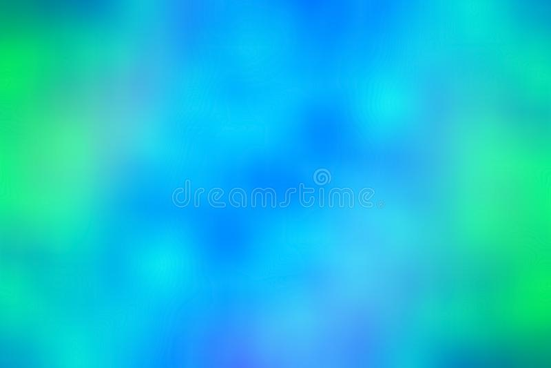 Fundo azul e verde do sumário do inclinação fotografia de stock royalty free