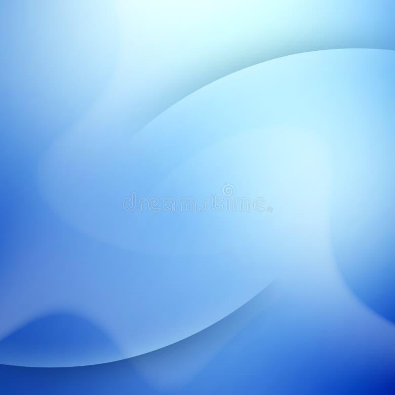 Fundo azul elegante com lugar para o texto. ilustração do vetor