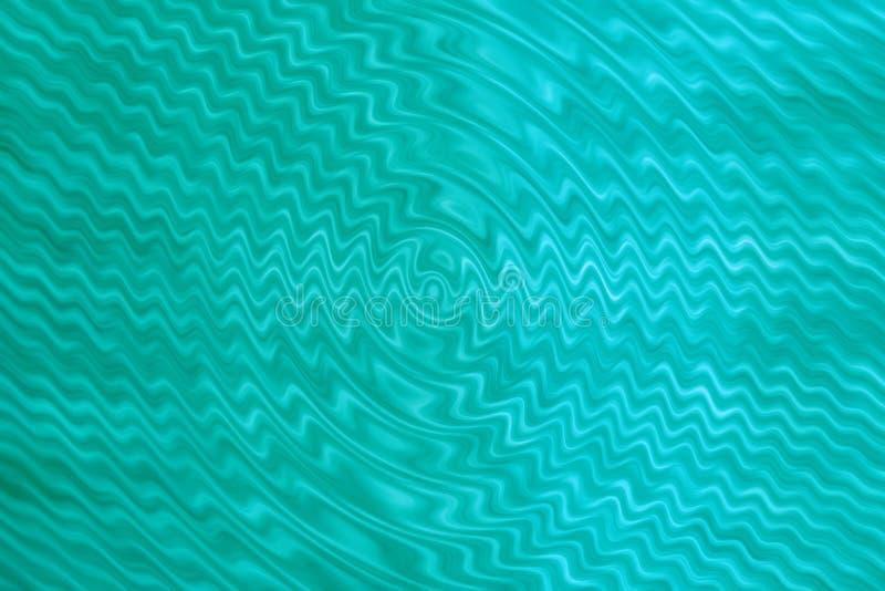Fundo azul esverdeado do caleidoscópio obscuro do sumário imagens de stock royalty free