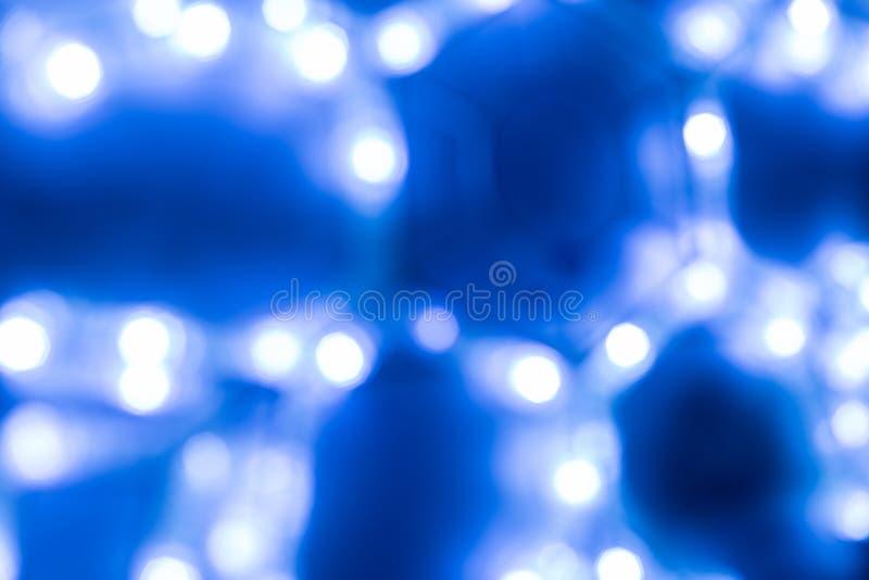 Fundo azul frio abstrato ciência foto de stock royalty free