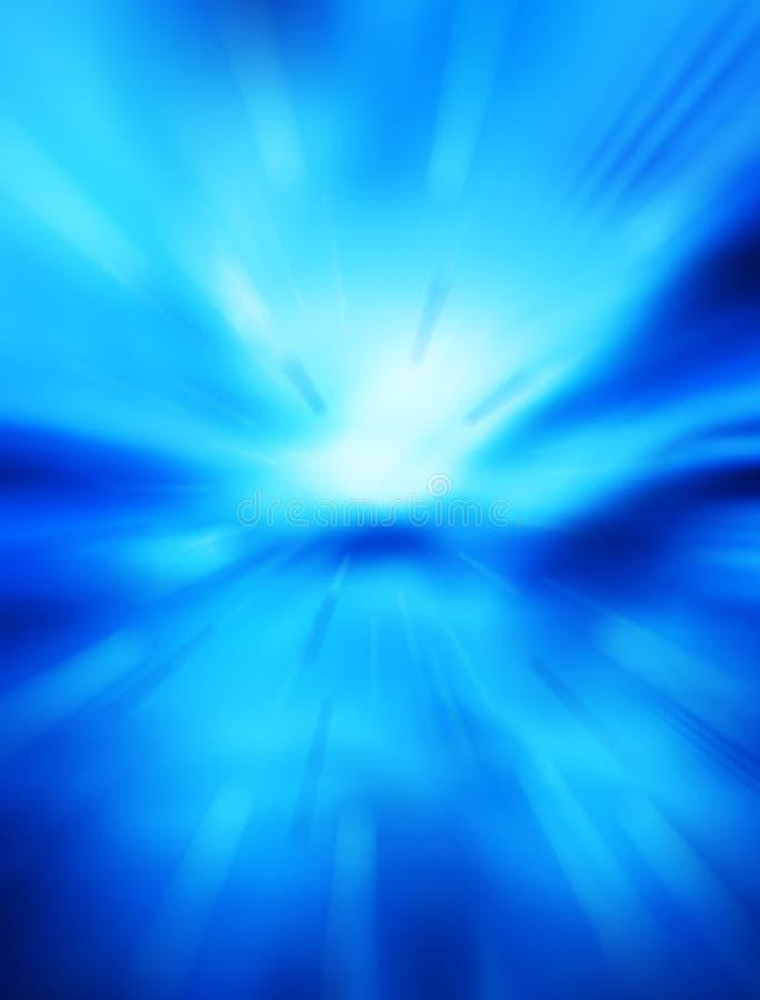 Fundo azul futurista imagens de stock