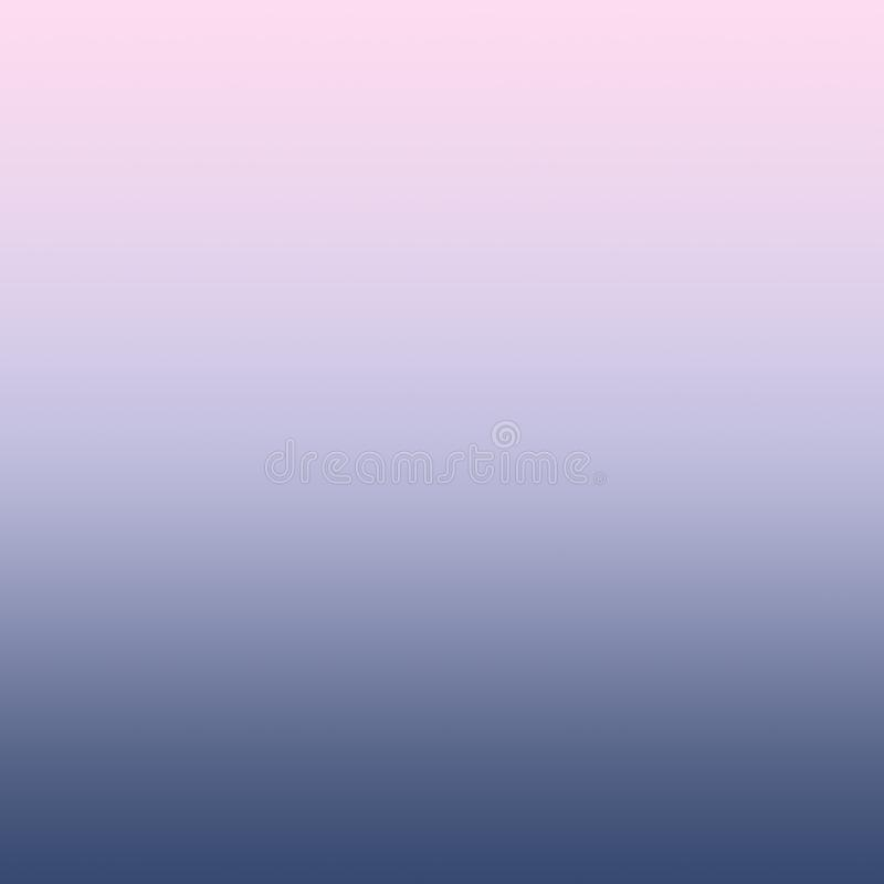 Fundo azul lilás do inclinação do rosa milenar pastel de Ombre ilustração royalty free