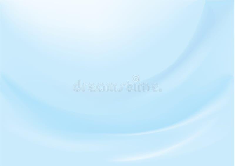 Fundo azul liso ilustração do vetor