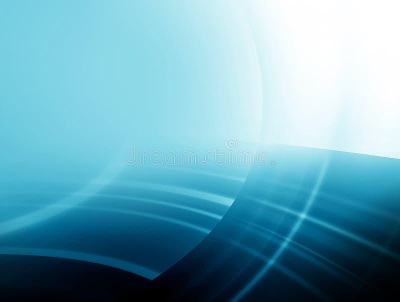 Fundo azul macio abstrato ilustração stock