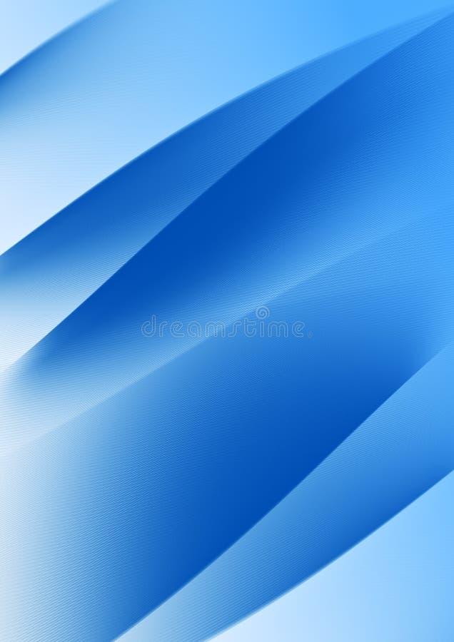 Fundo azul ondulado foto de stock royalty free