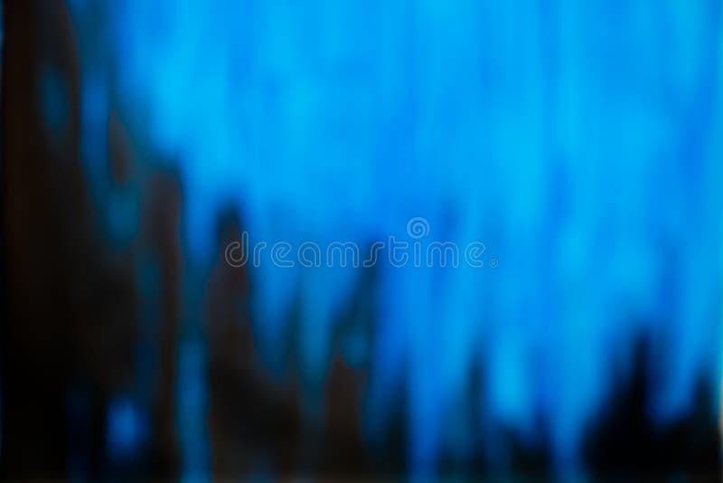 Fundo azul Unfocused foto de stock