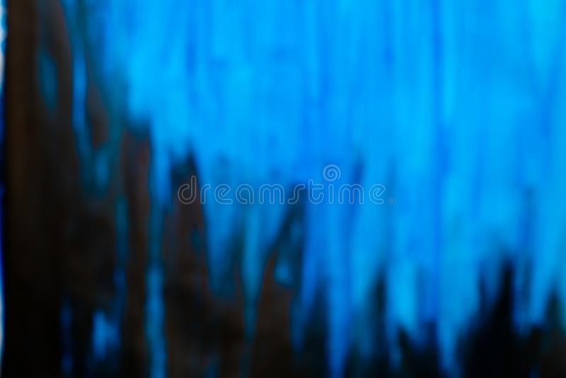 Fundo azul Unfocused foto de stock royalty free