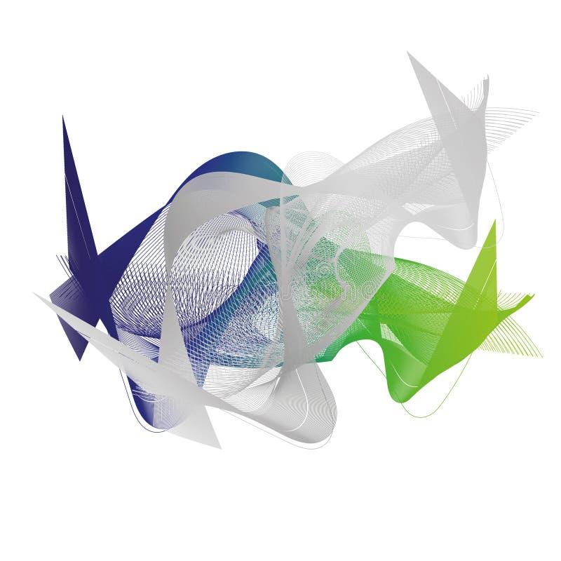 Download Fundo azul verde abstrato ilustração do vetor. Ilustração de azul - 80102181
