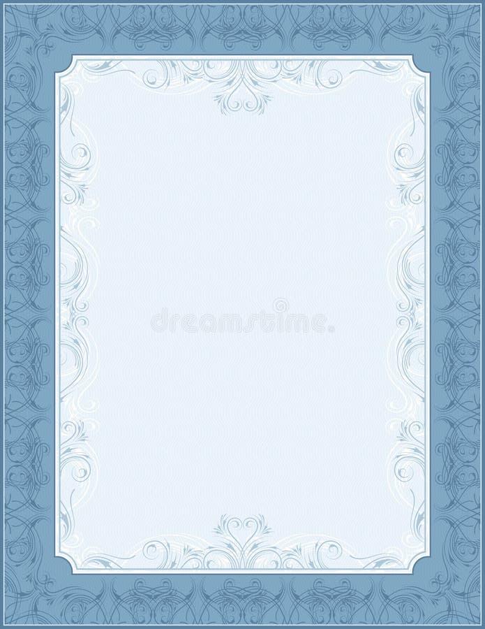 Fundo azul, vetor ilustração royalty free