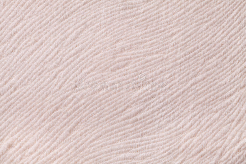 Fundo bege claro do material de matéria têxtil macio r fotografia de stock royalty free