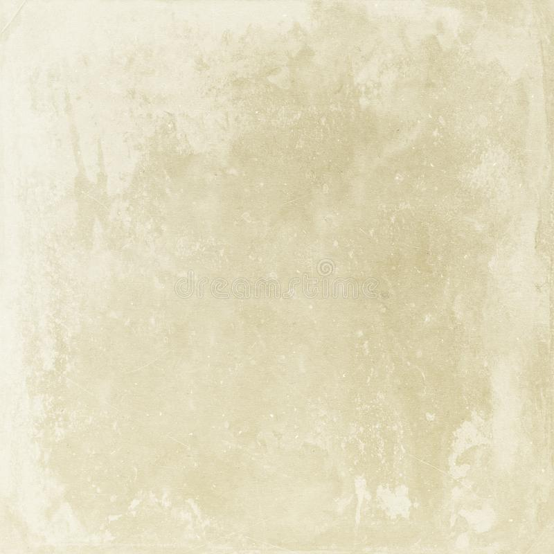 Fundo bege do grunge, retro, vintage, textura do papel, pontos, s ilustração do vetor