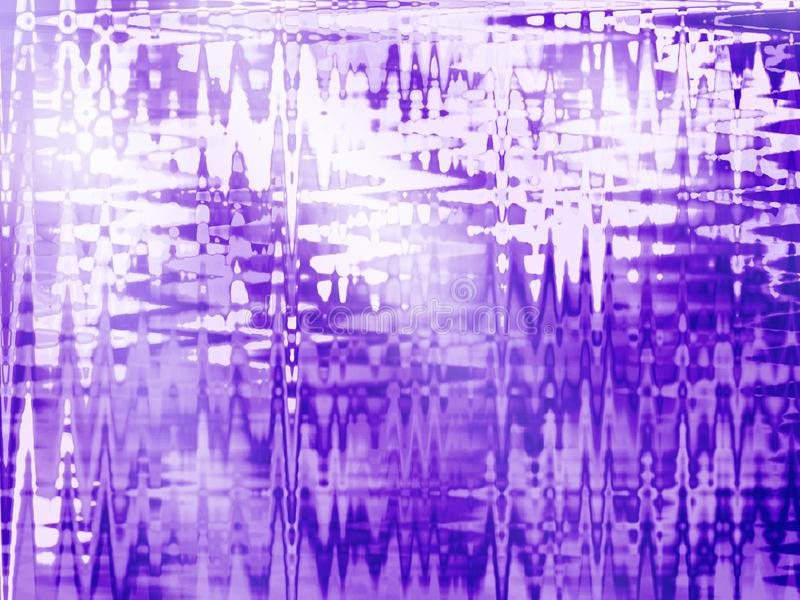 Fundo blured sumário com teste padrão de onda fotografia de stock