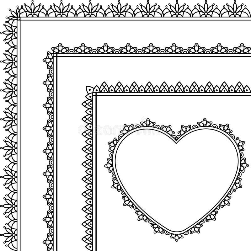 Fundo bonito com laço ilustração royalty free