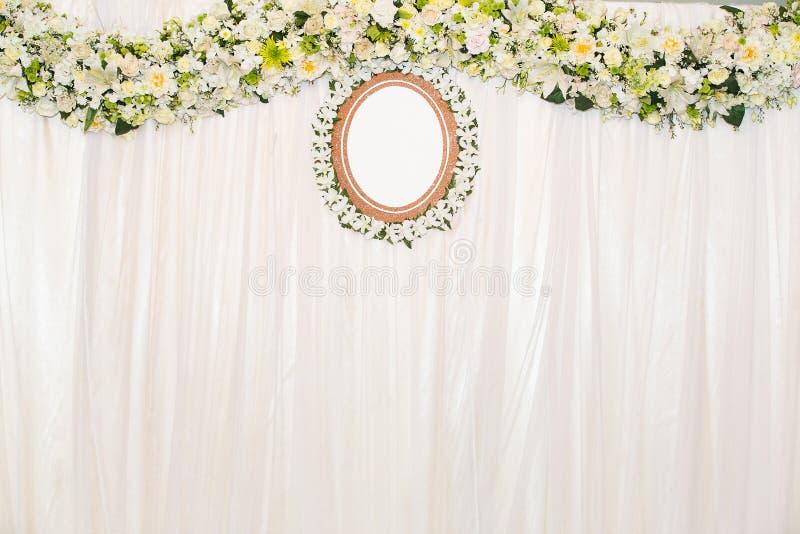 Fundo bonito das flores para o casamento imagens de stock royalty free