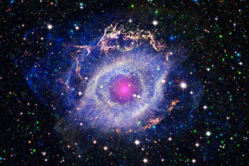 Fundo bonito do espaço Arte de Cosmoc Elementos desta imagem fornecidos pela NASA imagens de stock