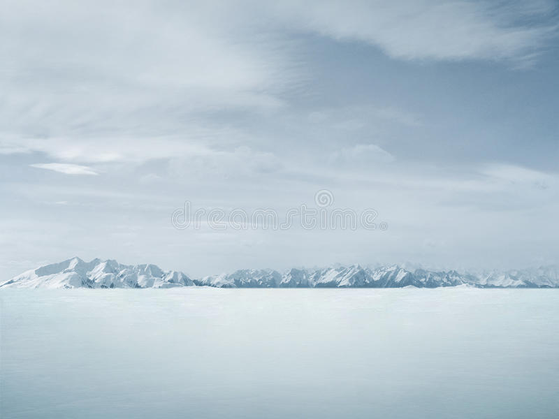 Fundo bonito do inverno fotografia de stock royalty free