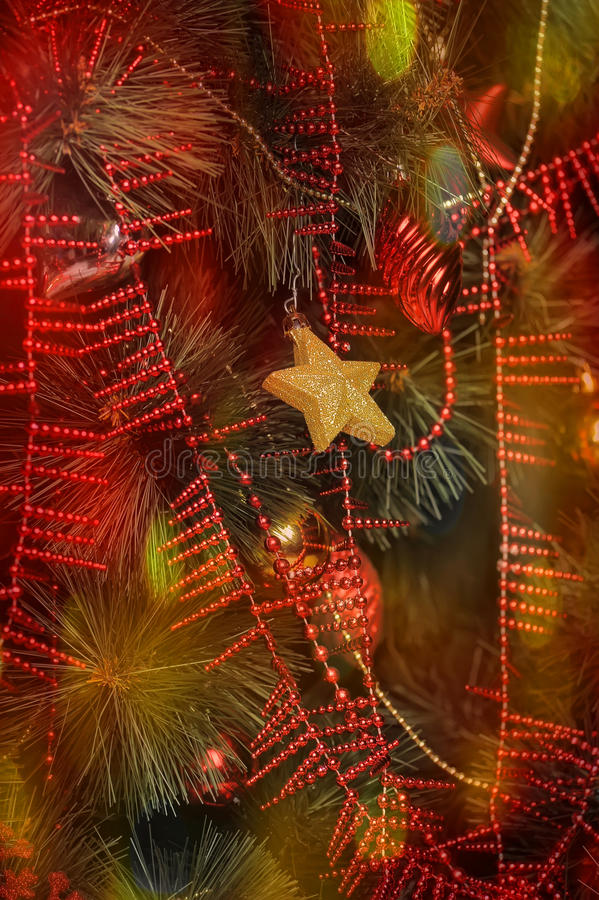 Fundo bonito do Natal foto de stock